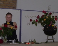 In the Summer Time Floral Art Demonstration