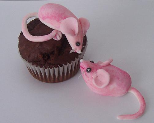 Cuddle Mouse Muffins