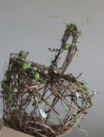 Large Open Weave Twig Basket
