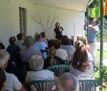 Garden Wreath Workshop and Demonstration