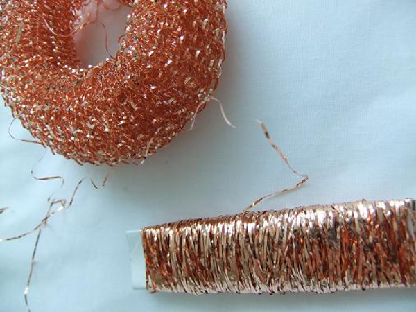 Copper wire Spiral pot scrubber