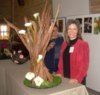 Arum Lily Demonstration at Durbanville Flower Club