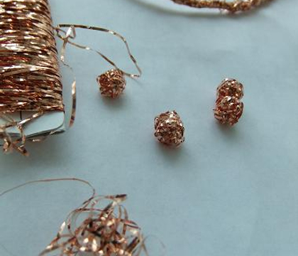 Wire baubles