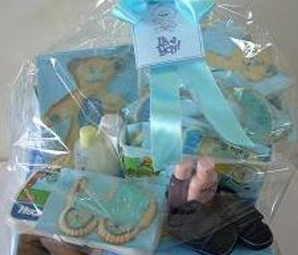 It's a boy! Baby Shower Hamper