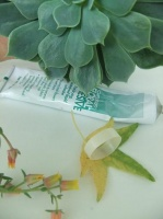 Create a flat base to glue small florets securely