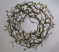 Forest Filigree Christmas Wreath