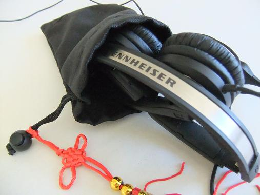 When I do competitions I use Sennheiser (PX200-11) foldable, closed headphones