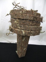 Paper log stack