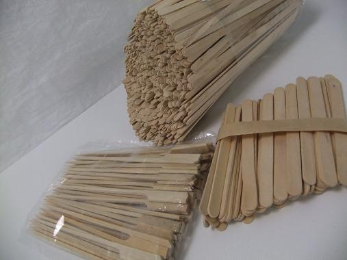 Birch wood sticks.