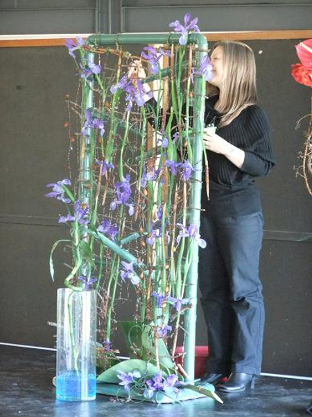 Floral Art Demonstration- Desalination in South Africa