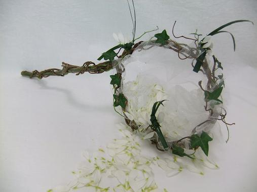Willow and Hazel butterfly net for a flower girl.