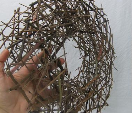 Stacked Twig Roundabout