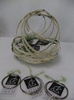 Wire favors for the members of the BC Floral Art Society at my Just Right! demonstration