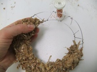 Twist your own Wire Wreath frame