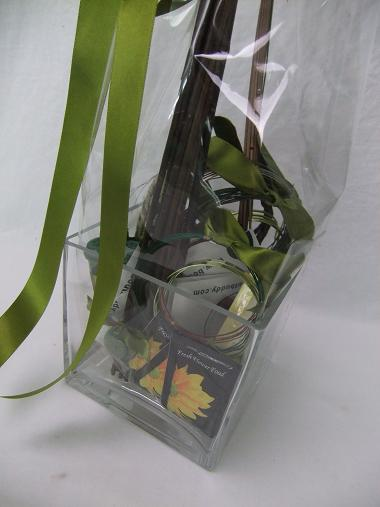 Floral art supply hamper.