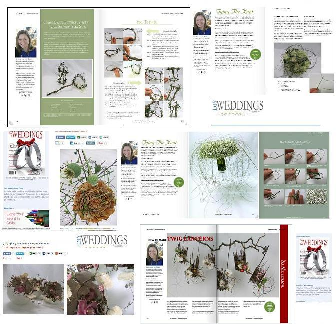 My creative workbook about christine de beer contrinuting designer for diy weddings magazine solutioingenieria Image collections