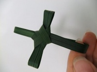 Fold a Palm Cross