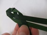 Weaving a Straight Edged Strip