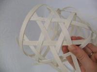 Weave a Midelino Cane Tubular Muff Bouquet Armature