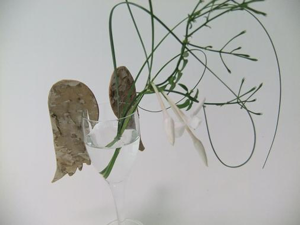 Birch bark wings
