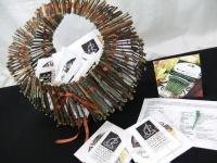Basket full of BoutStix Floral Magnets