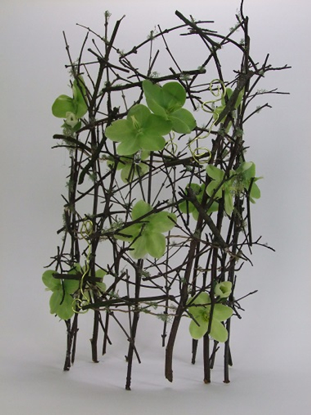 It's stick season floral art design