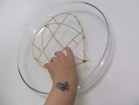 Midolino heart armature standing on Hana-Kubari legs