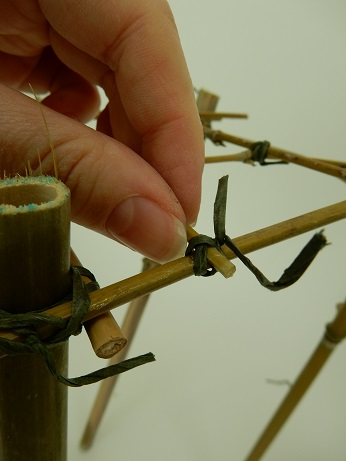 Latch it to the armature.