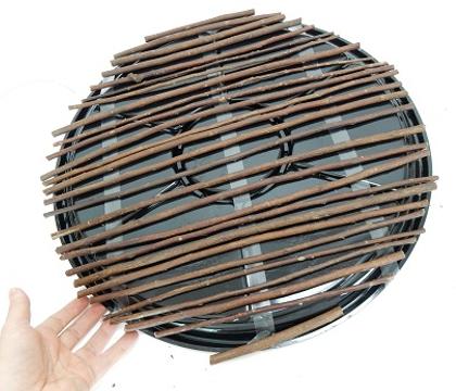 Horizontal twig disk