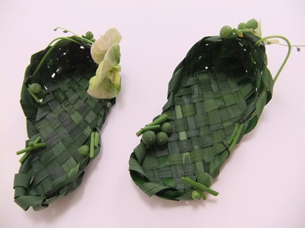 Palm slippers