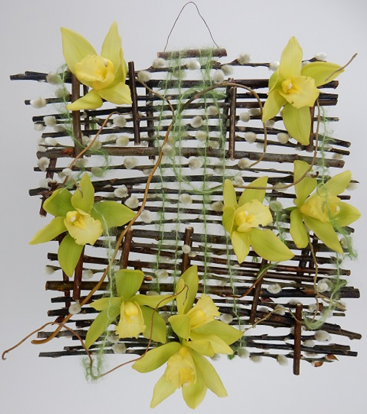 Pulling some Strings Floral Art Design