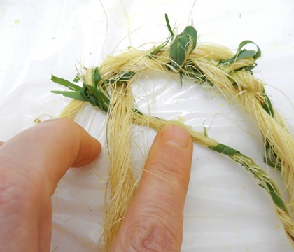 Bamboo and Sisal String