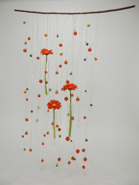 Pretty Spicy floral art design