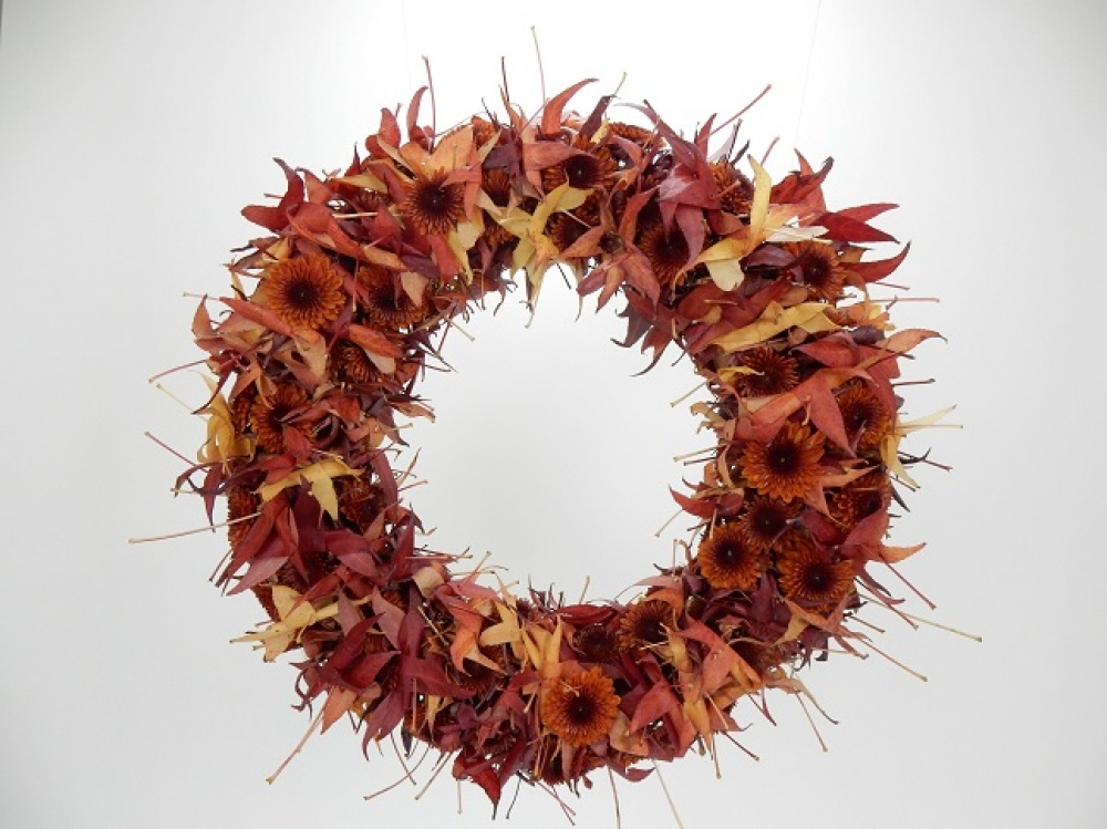 Watch the leaves turn floral art design