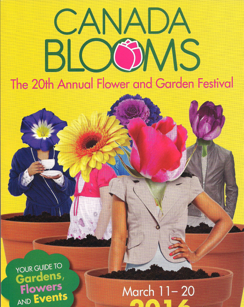Celebrate design at the 20th anniversary of Canada Blooms and The Toronto Flower Show