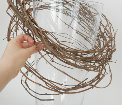 Loosened Wreath Armature