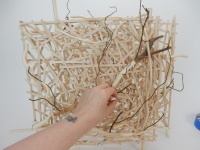 Popsicle Stick Square Armature