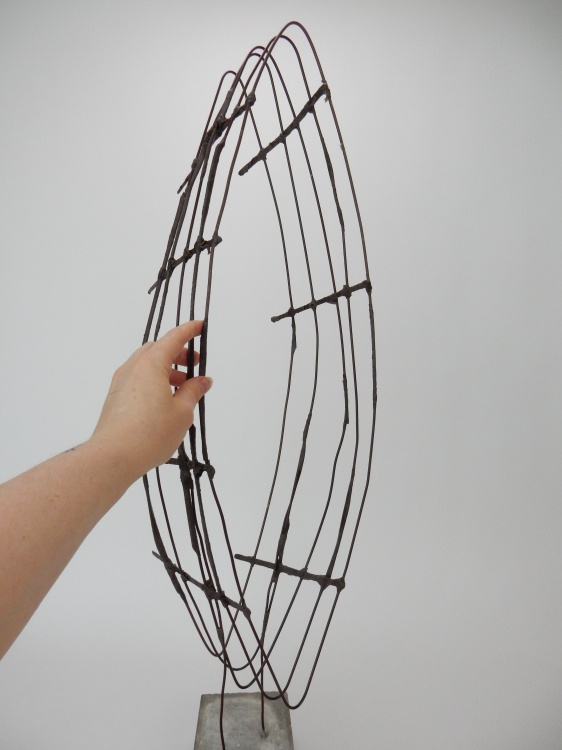 The basic wire armature is now ready to design with