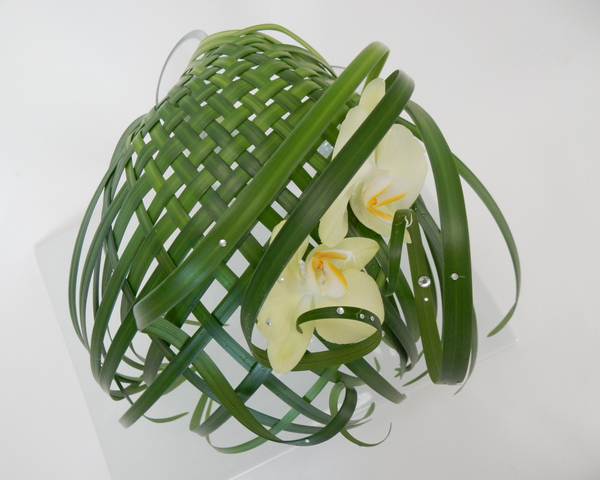 Woven lily grass