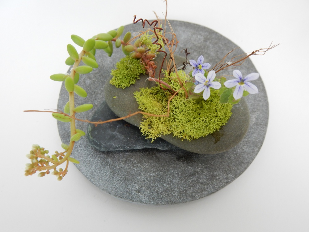 Moss and succulent design