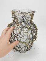 Twig snippet vase armature
