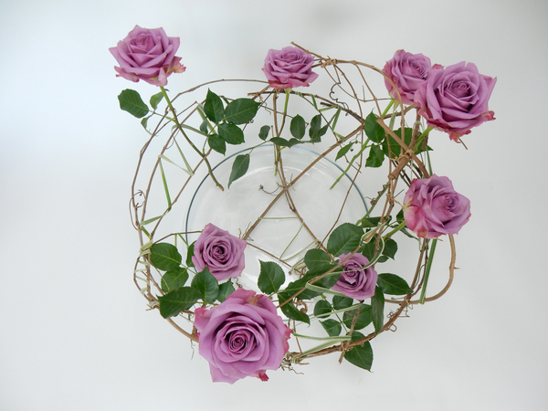 Piece of the forest floral art design
