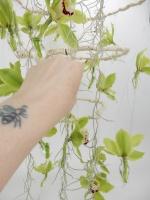 Three Tier Wire Ring Chandelier