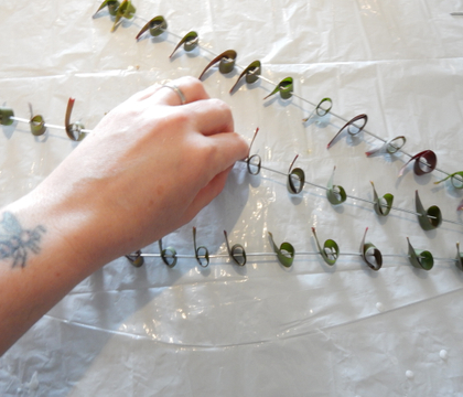 Skewered Foliage Garland