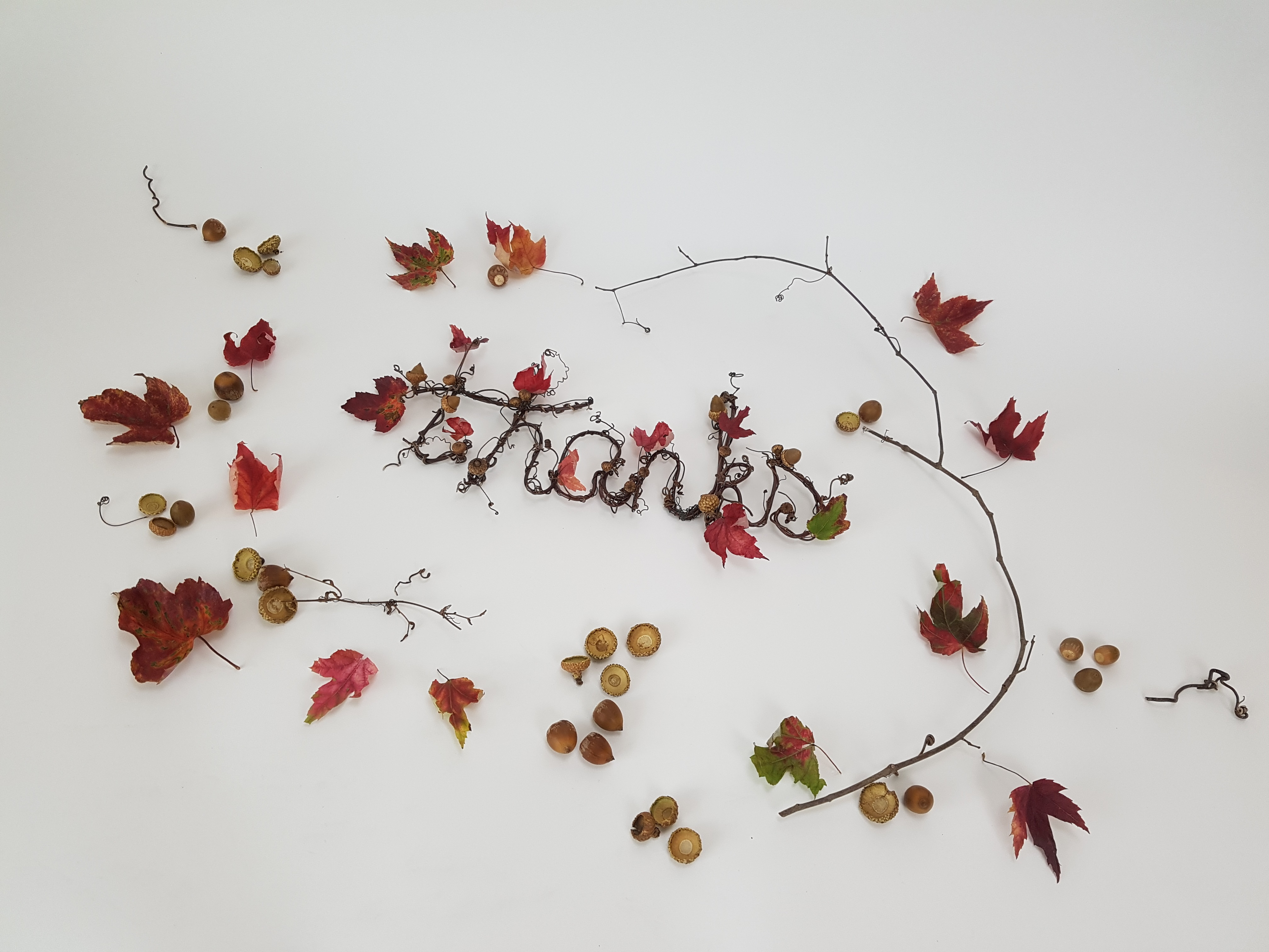 giving a thanks