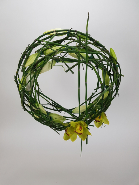 Equisetum wreath