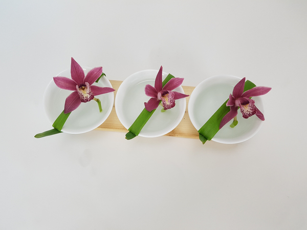 Cymbidium floral design