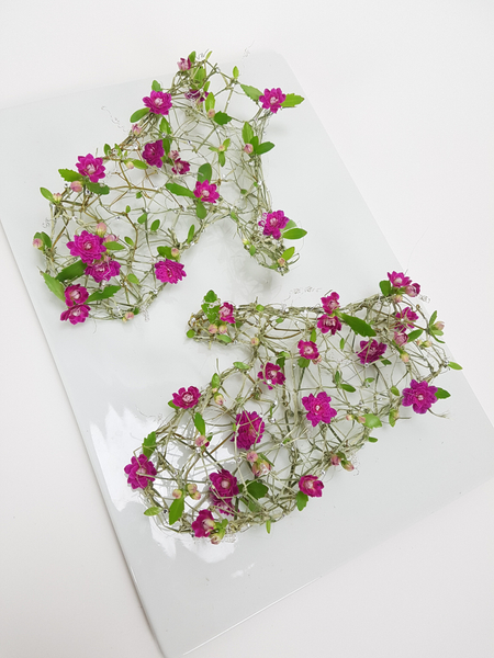Floral Mittens