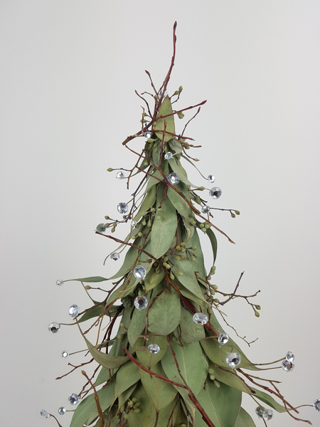 Eucalyptus Christmas tree