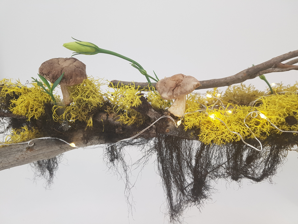 Floral art inspired by nature